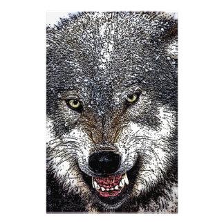 Wild Wolf Stationery
