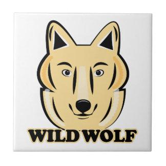 Wild Wolf Ceramic Tiles