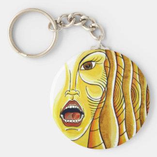 Wild Woman Keychain