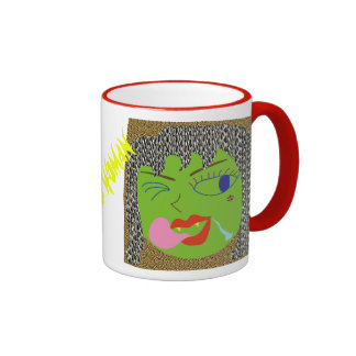 Wild Woman Ringer Coffee Mug