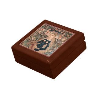 Wild Woman & Unicorn Gift & Jewelry Box