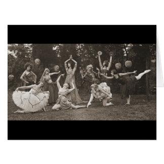 Wild Women Dance 1924 Large Greeting Card