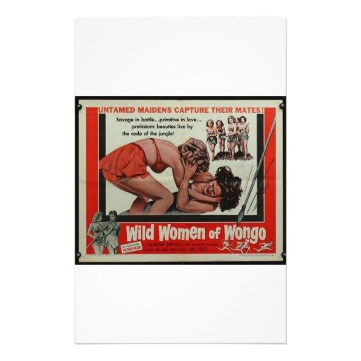 Wild Women Of Wongo Customized Stationery