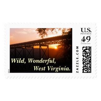 Wild, Wonderful, West Virginia. Postage Stamps