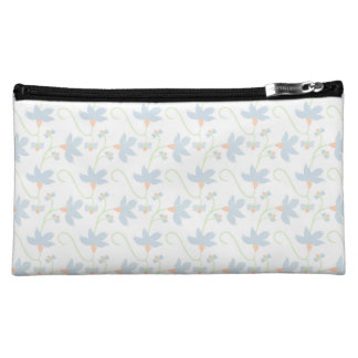 Wild Wondrous Floral Pattern Cosmetic Bag