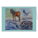 """Wild World"" Notecard Stationery Note Card"