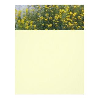 Wild Yellow Flowers/ Letterhead