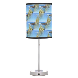 Wild Yucca Flower Design Desk Lamp