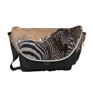 Wild Zebra African Safari Messenger Bag