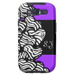 Wild zebra hearts BlackBerry Samsung Galaxy Case Galaxy S3 Cases