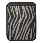Wild Zebra Print iPad Sleeve