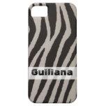 Wild Zebra Print iPhone 5 Cases