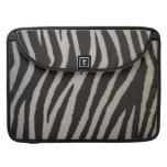 Wild Zebra Print MacBook Pro Sleeve