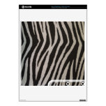 Wild Zebra Print PS3 Slim Decal