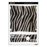 Wild Zebra Print Xbox 360 S Console Skin