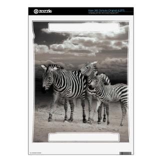 Wild Zebra Socialising in Africa Xbox 360 Decal
