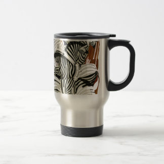Wild Zebra Travel Mug