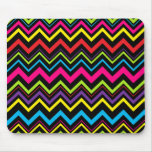 Wild Zig Zags Mouse Pad