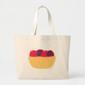 Wildberry Tart Large Tote Bag