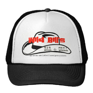 wildbill001, www.wildbillsaipan.com trucker hat