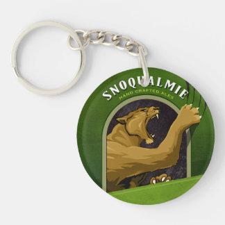Wildcat acrylic keychain