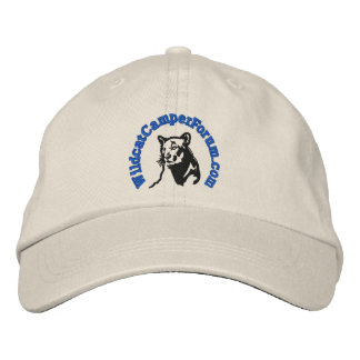 Wildcat blue logo hat embroidered baseball cap