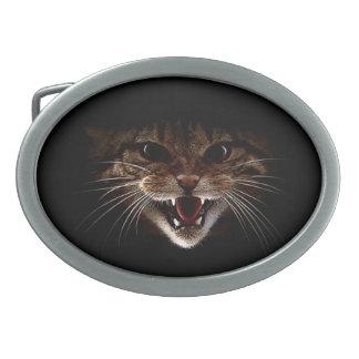 wildcat buckle oval belt buckles