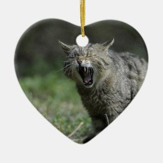 Wildcat Ceramic Ornament