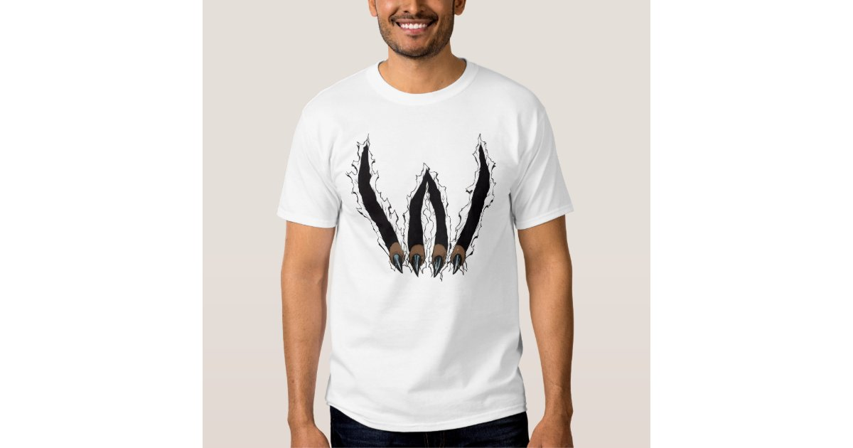 Wildcat claw ripping through t shirt by al rio zazzle for T shirt printing mobile al