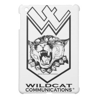 WILDCAT COMMUNICATIONS LOGO- FOR IPAD iPad MINI CASE