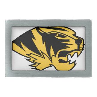 Wildcat Mascot Belt Buckle