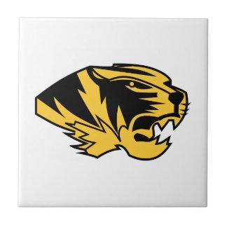 Wildcat Mascot Ceramic Tile