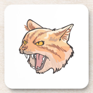 Wildcat Mascot Drink Coaster