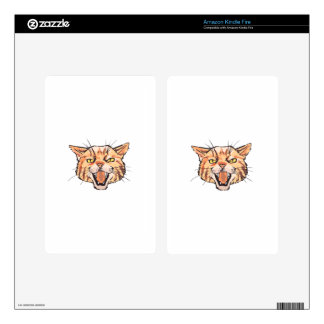 Wildcat Mascot Skin For Kindle Fire