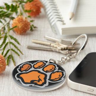 Wildcat Paw print Key Chain