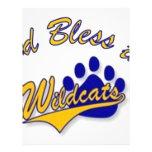 wildcat pin flyer design