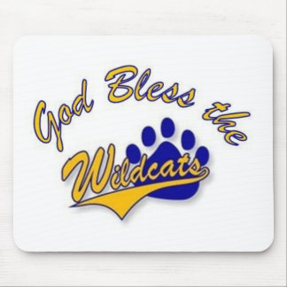 wildcat pin mouse pad