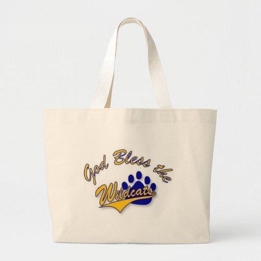 wildcat pin tote bags