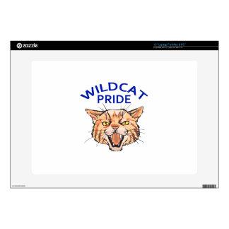 """Wildcat Pride 15"""" Laptop Decal"""