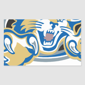 Wildcat Rectangular Sticker