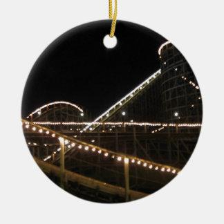 Wildcat Roller Coaster Hersheypark Ceramic Ornament