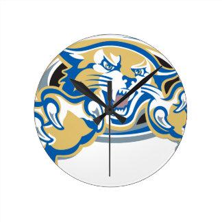 Wildcat Round Clock
