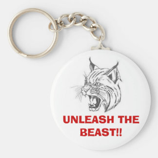 wildcat, UNLEASH THE BEAST!! Keychain