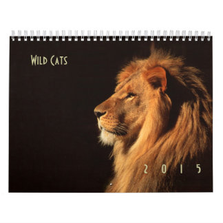 Wildcats 2015 Wall Calendar - Wildlife