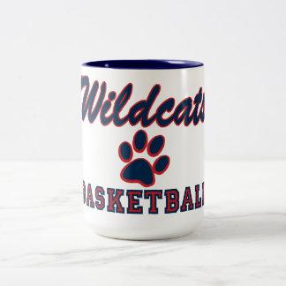 Wildcats Basketball Coffee Mugs