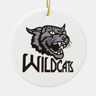 Wildcats Ceramic Ornament