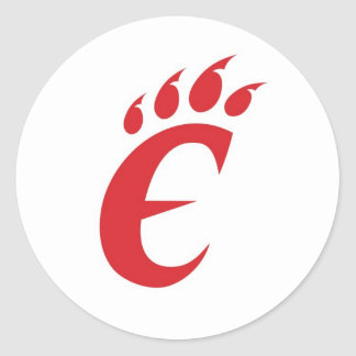 Wildcats Classic Round Sticker