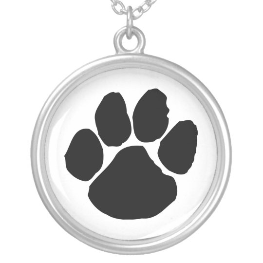 WILDCATS DEN SILVER PLATED NECKLACE