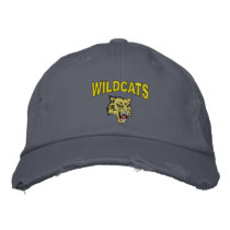 Wildcats Embroidered Baseball Hat