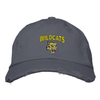 Wildcats Embroidered Baseball Caps